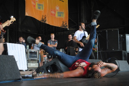 letlive. at Warped Tour