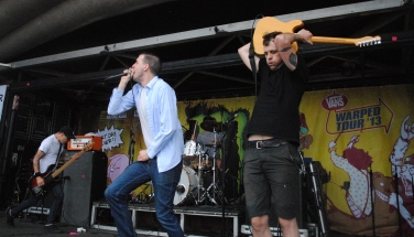 Defeater at Warped Tour