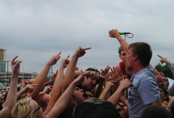 Handguns at Warped Tour
