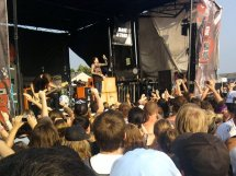 Bring Me The Horizon at Warped Tour 2010