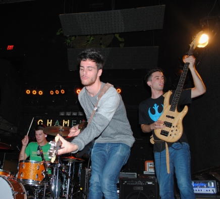 The Stonewall Vessels at the Chameleon Club
