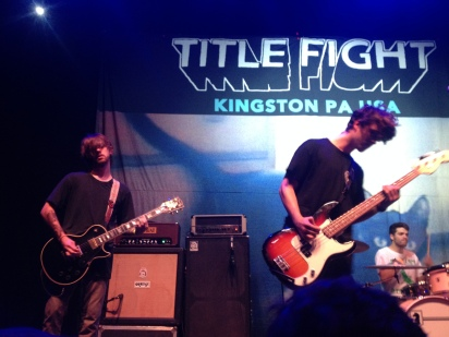 Title Fight at Union Transfer